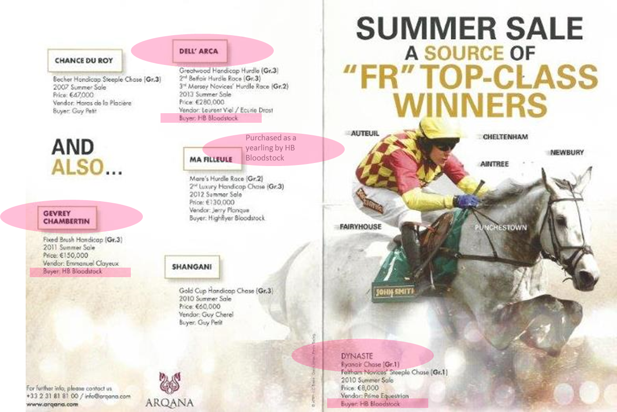 Arqana July 2014 comments